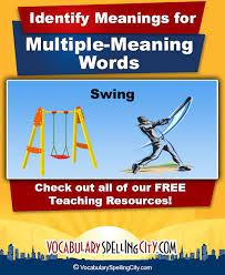 homonyms vocabularyspellingcity