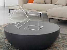 coffee table black round coffee table ottoman leather boundless