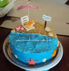 Tropical Themed Cake - best 25 beach birthday cakes ideas on pinterest beach themed