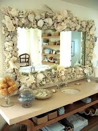 Decorate A Bathroom Mirror How To Decorate A Bathroom Mirror Frame With Shells 5 Guides For