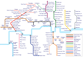 London Metro Map by London Underground Musings On Maps