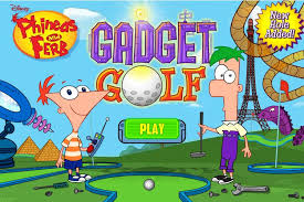 Phineas And Ferb Backyard Beach Game Gadget Golf Phineas And Ferb Wiki Fandom Powered By Wikia