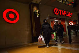 target shopping lady black friday analysis after target hack verifone smart card readers could shine