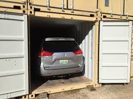 using shipping containers to store and ship cars container