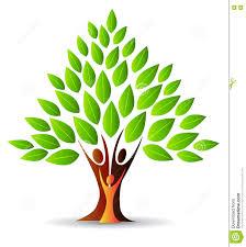family tree logo stock vector image 74355263