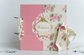 baby girl scrapbook album personalised scrapbook album baby girl scrapbook album handmade