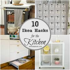 10 ingenious ikea hacks for the kitchen ikea hacks drawers and