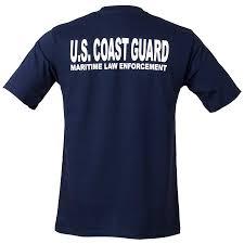 coast guard maritime enforcement mens t shirt