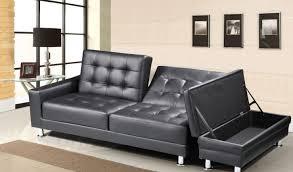 Futon Sofa Bed With Storage Sofa Nathaniel Home Brown Melanie Champion Futon Sofa Bed With