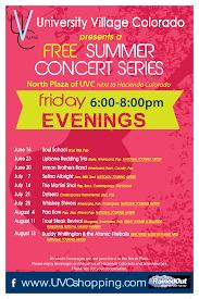 Uccs Map Free Summer Concert Series
