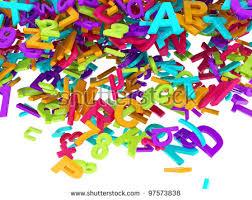 golden 3d block letters digits on stock illustration 96637984