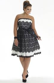stylish cocktail dresses for plus size women at wholesale rates
