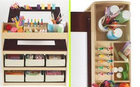 Kids Craft Center - home design lovely kids art tables with storage ideas home