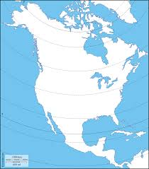 North America Continent Map by North America Free Maps Free Blank Maps Free Outline Maps Free