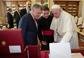 trump pope francis pope jordan u0027s king abdullah discuss trump u0027s jerusalem move