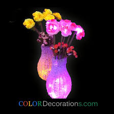wholesale best cd lf103 lighting flower valentines day table led