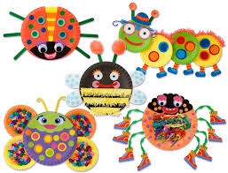 amazon com alex toys little hands paper plate bugs toys u0026 games