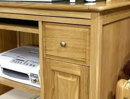bureau informatique bois massif bureau en chane bureau en chane caisson pour bureau beautiful