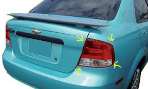 2004 Silverado Tail Lights Changing A Tail Light In The 2004 06 Aveo Sedan
