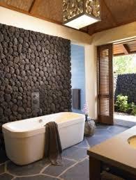 desain kamar mandi pedesaan desain kamar mandi dengan batu alam desain kamar mandi