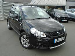 used suzuki sx4 black for sale motors co uk