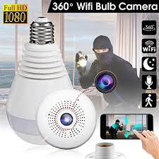 light bulb security system wireless 360 security camer hidden fish eye security hidden fish