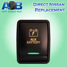 nissan pathfinder x trail 12v 3a nissan push switch led amber green on off switch for xtrail