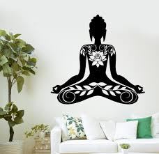 aliexpress com buy buddha vinyl decal buddha meditation mantra aliexpress com buy buddha vinyl decal buddha meditation mantra zen yoga mural art wall sticker buddha living room bedroom home decorative decor from