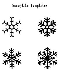 free printable snowflake templates google search 1st grade art