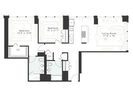 luxury 2 bedroom 2 bath apt for rent in west loop