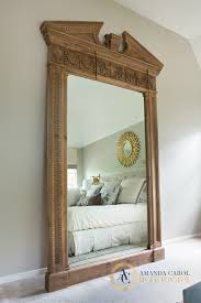 Large Mirror Frames Decorations Framed Pivot Mirror Restoration Hardware Bath