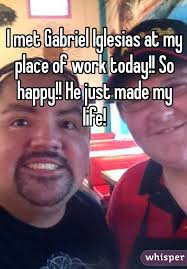 Gabriel Iglesias Memes - met gabriel iglesias at my place of work today so happy he