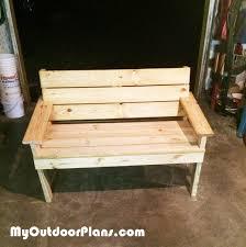 diy park bench myoutdoorplans free woodworking plans and