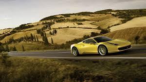 Ferrari 458 Yellow - 69 entries in yellow ferrari wallpapers group