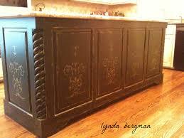 lynda bergman decorative artisan painting a black u0026 gold