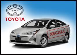 toyota prius brake recall toyota recalls prius for parking brake problem