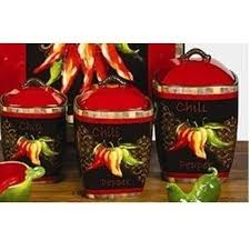 canisters kitchen decor 34 best kitchen decor images on kitchen bell pepper