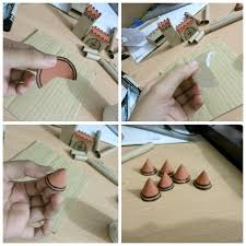 diy miniature castle how to make a toy papercraft on cut out