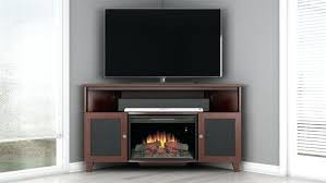 Recessed Electric Fireplace Recessed Electric Fireplace Inch Corner Stand With Fireplace