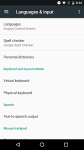 add language to android how to add input languages in android 7 0