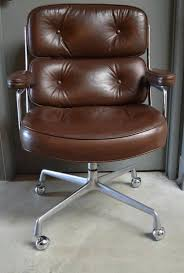 Leather Armchair Ebay Vintage Leather Eames Time Life Chair 2 Retro Leather Office Chair