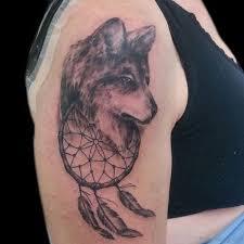37 marvelous catcher tattoos on shoulder