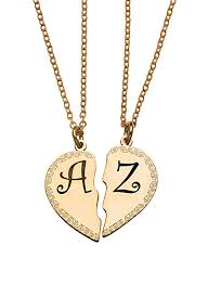 couples necklace images Couple necklaces 60 cutest matching necklace sets for couples 2018 jpg