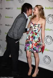 the walking dead u0027s norman reedus with emily kinney after denying