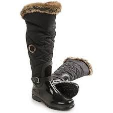 womens knee high boots canada santana canada clarissa s brown winter boots size eu 36
