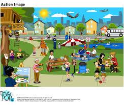 esl image at the park brainpop educators