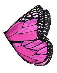 amazon com monarch wings with glitter pink toys