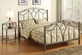 modern design metal bedroom furniture marvelous standard spring