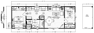 Park Model Homes Floor Plans Reef Point Mobile Home Floor Plan Factory Expo Home Centers