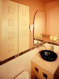 Orange Powder Room Bedrooms And Bathrooms Helga Simmons Interior Design